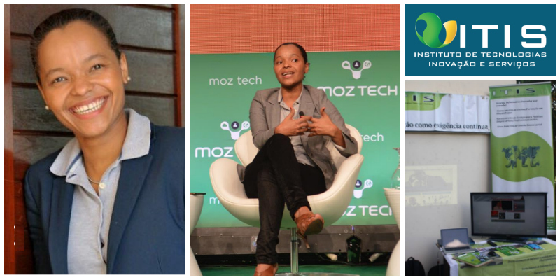 Gérsia Sequeira , co-founder of  Instituto de Tecnologias, Inovação e Serviços - ITIS (Mozambique)