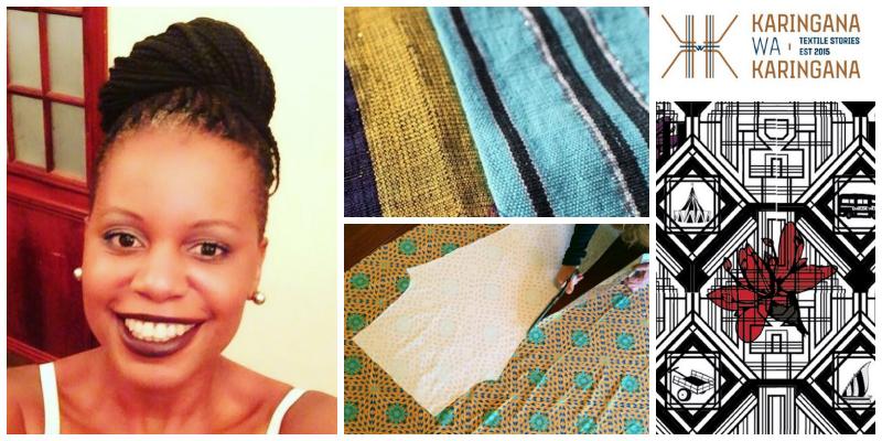 Wacy Zacarias , founder of Karingana Wa Karingana Textiles (Mozambique)