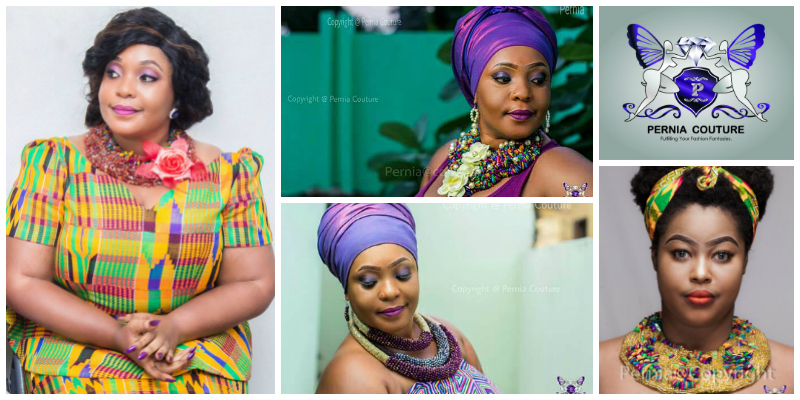 Anna Cole Ojukwu , founder of  Pernia Couture  (Ghana)