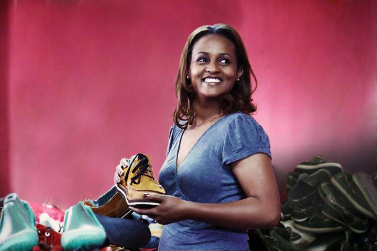 Bethlehem Tilahun Alemu,founder and Managing Director of soleRebels(Ethiopia)