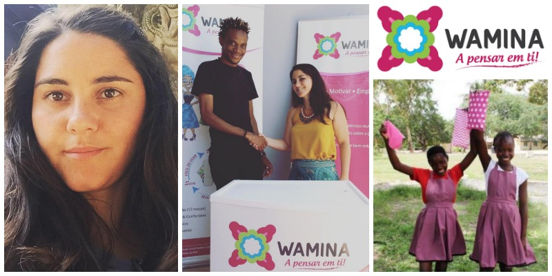 Filipa Carreira , founder of  Wamina  (Mozambique)