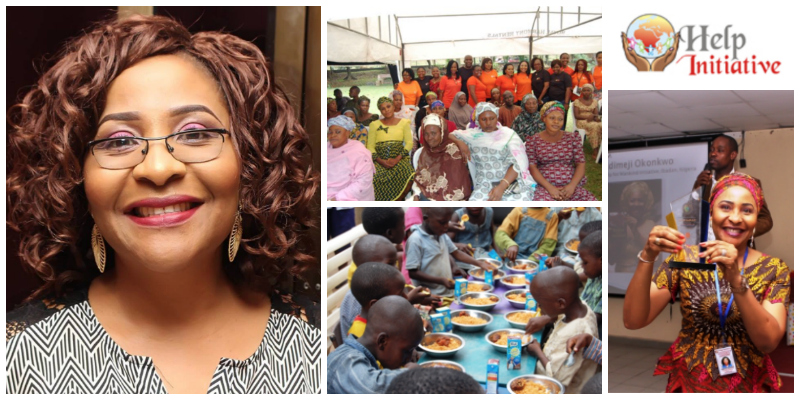 Febisola Okonkwo , founder of  Help For Mankind Initiative (Nigeria)