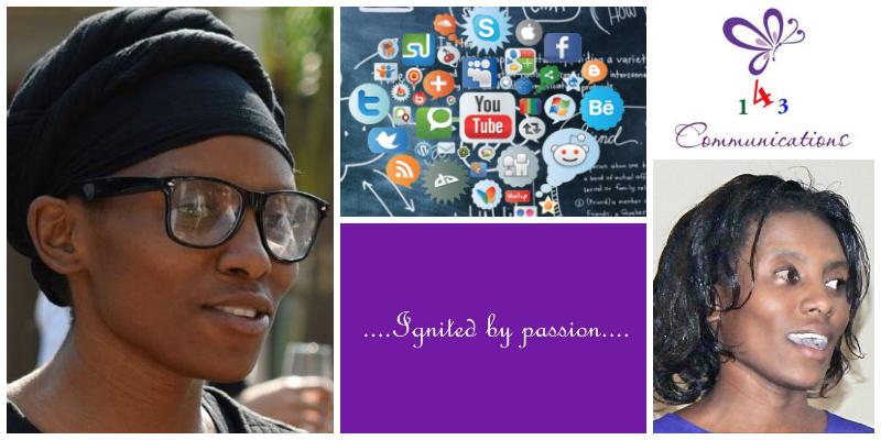 Geraldine Eve Kasambara , founder of  143 Communications  (Zimbabwe)