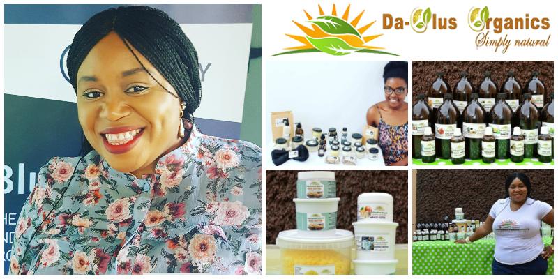 Olukemi Omotayo Asalu,  founder of  Daolus Organic Products  (South Africa)
