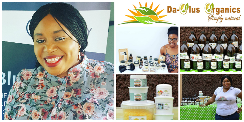 Olukemi Omotayo Asalu,  founder of  Daolus Organic Products  (South Africa)