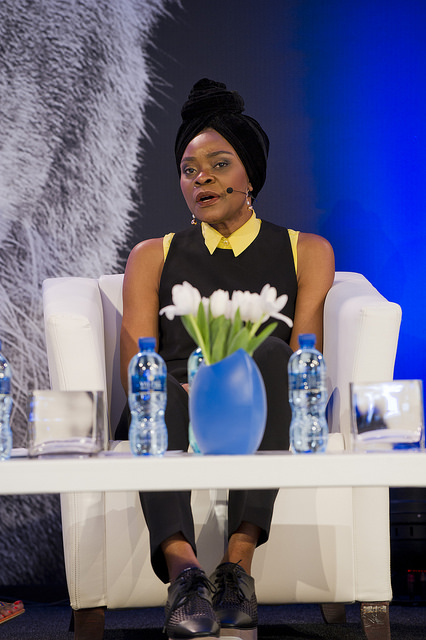 Deola speaking at the Lionesses of Africa Annual Conference 2016