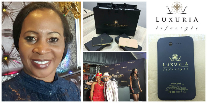 Grace Mlimo, founder of Luxuria Lifestyle Africa