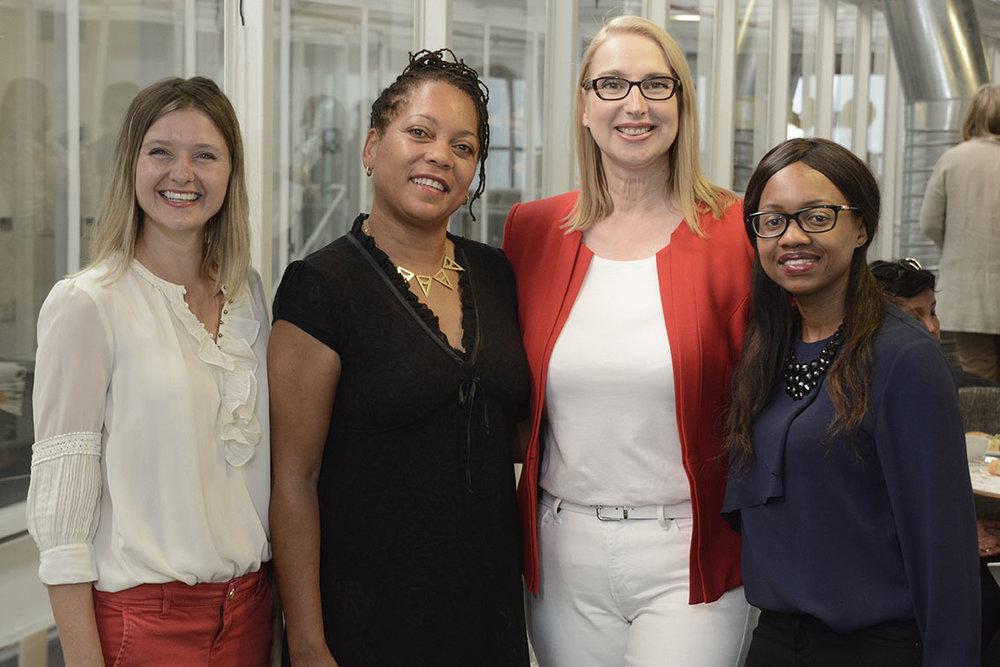 Speakers L-R: Amanta Hooman, Yolanda Methvin, Melanie Hawken, Nomusa Ndwandwe