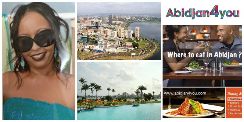 Evelyne Ndabaneze-Masumbuko,founder of Abidjan4you(Ivory Coast)