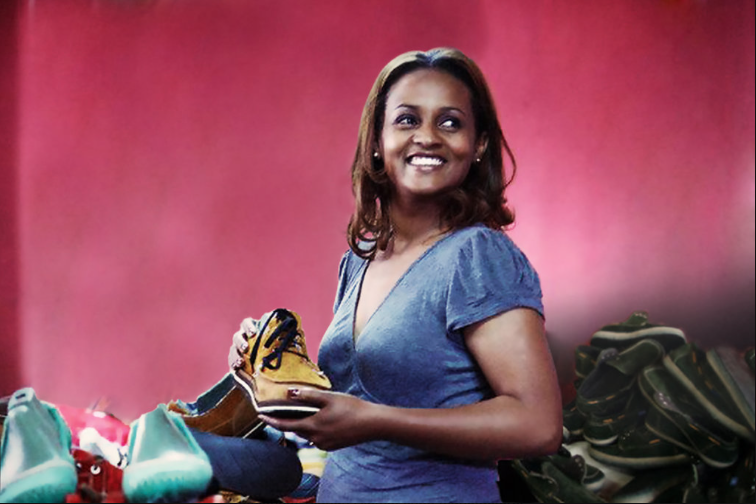 Bethlehem Tilahun Alemu   ,  founder and Managing Director of  soleRebels  (Ethiopia)