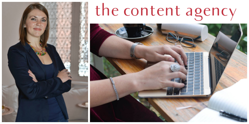 Liz van Zyl , founder of  The Content Agency (South Africa)