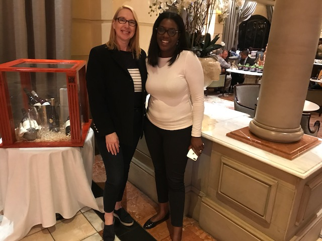 Monica Musonda, founder of Java Foods with Melanie Hawken, founder & CEO of Lionesses of Africa
