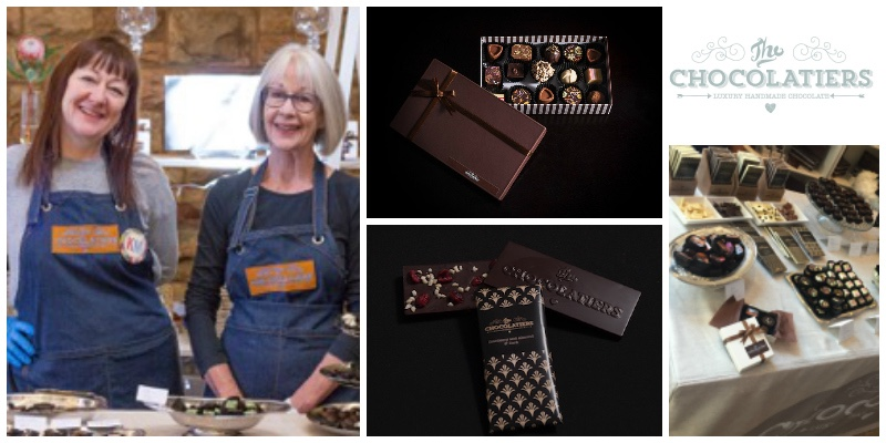 Melanie Finch Keshwar and Ann Finch , co-founders of  The Chocolatiers  (South Africa)