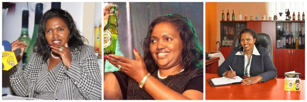 Tabitha Karanja , founder of Keroche Breweries (Kenya)