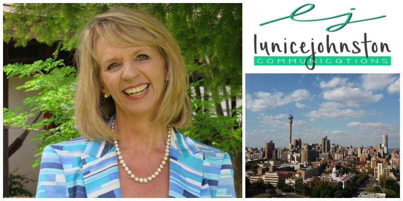 Lunice Johnston,  founder of Lunice Johnston Communications (South Africa)