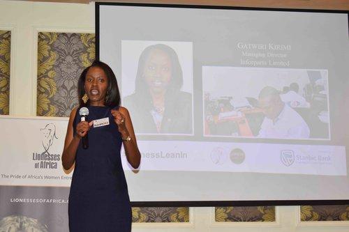 Gatwiri Karimi, managing director of Inforparts Technologies