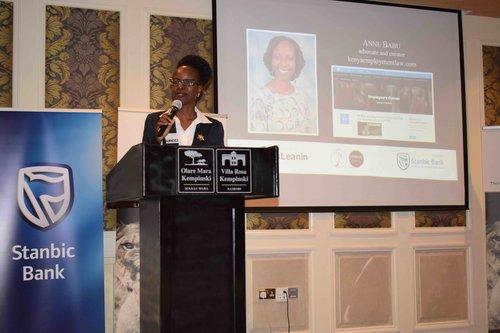 Anne Babu, founder of kenyaemploymentlaw.com