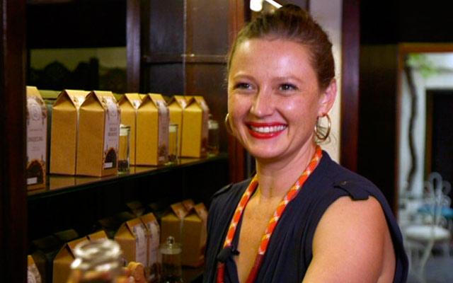 Jessica Bonin,  founder of  Lady Bonin's Tea  (South Africa)