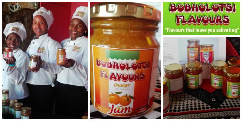 Thuli Dlamini-Teferi, founder of Bobholotsi Flavours (Swaziland)