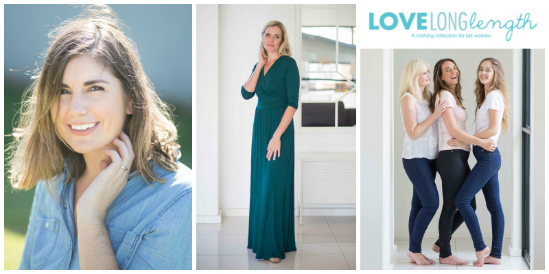 Kristi Kyle, founder of Love Long Length Clothing (South Africa)