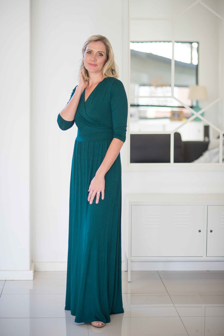 Kristi Kyle, an entrepreneur based in South Africa making a clothing ...