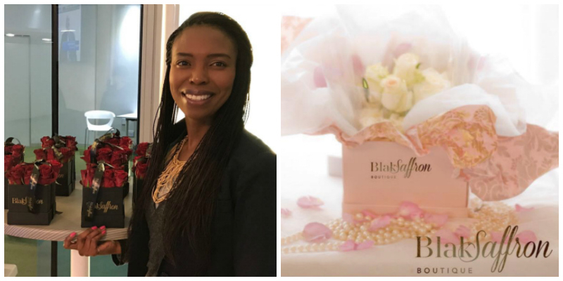 Tumi Moitse, founder of BlakSaffron Boutique (South Africa)