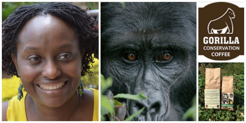 Dr Gladys Kalema-Zikusoka , founder of Gorilla Conservation Coffee (Uganda)