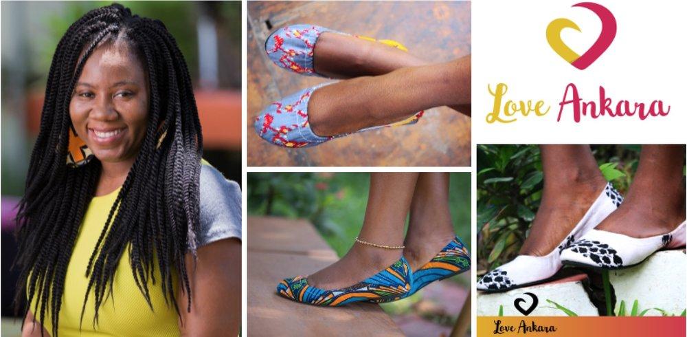 Emma Maame Efua Tandoh , founder of Love Ankara (Ghana)