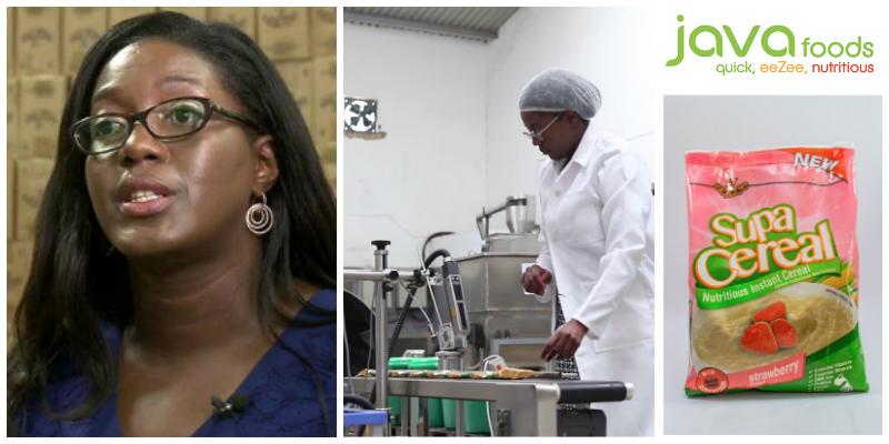 Monica Musonda , founder of Java Foods (Zambia)