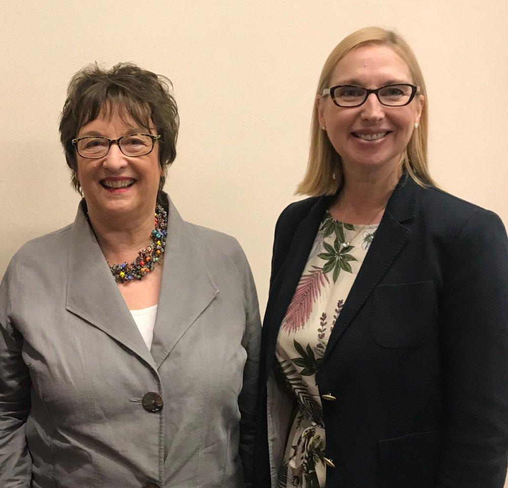 Minister Brigitte Zypries & Melanie Hawken