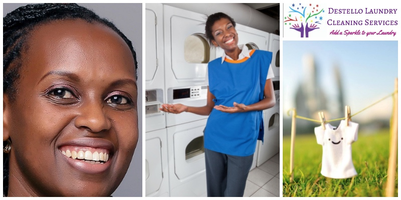 Gaceri Kirimi, co-founder of  Destello Laundry Cleaning Services  (Kenya)