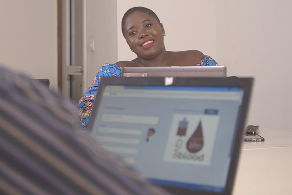 Melissa Bime, founder of Infiuss in Cameroon - After witnessing too many unnecessary deaths as a nurse in Cameroon, Melissa has developed a digital supply-chain platform that gives hospitals access to local ready-to-use blood supplies.