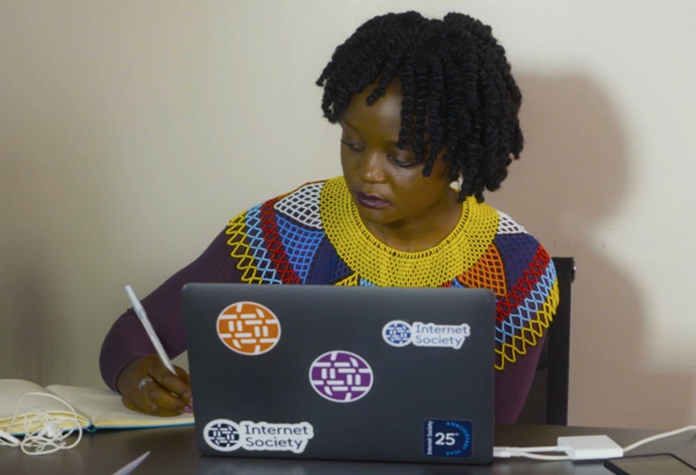 Evelyn Namara, founder of Vouch Digital in Uganda - Evelyn has developed a digital voucher system changing the way subsidiaries are exchanged in the country to help farmers.