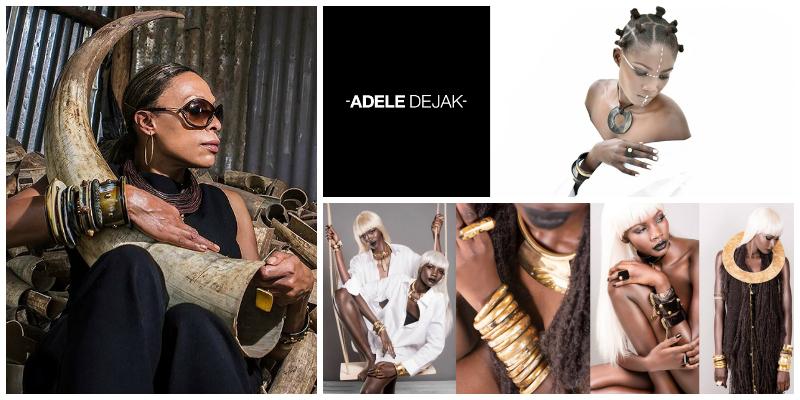 Adèle Dejak, founder of  Adele Dejak (Kenya)
