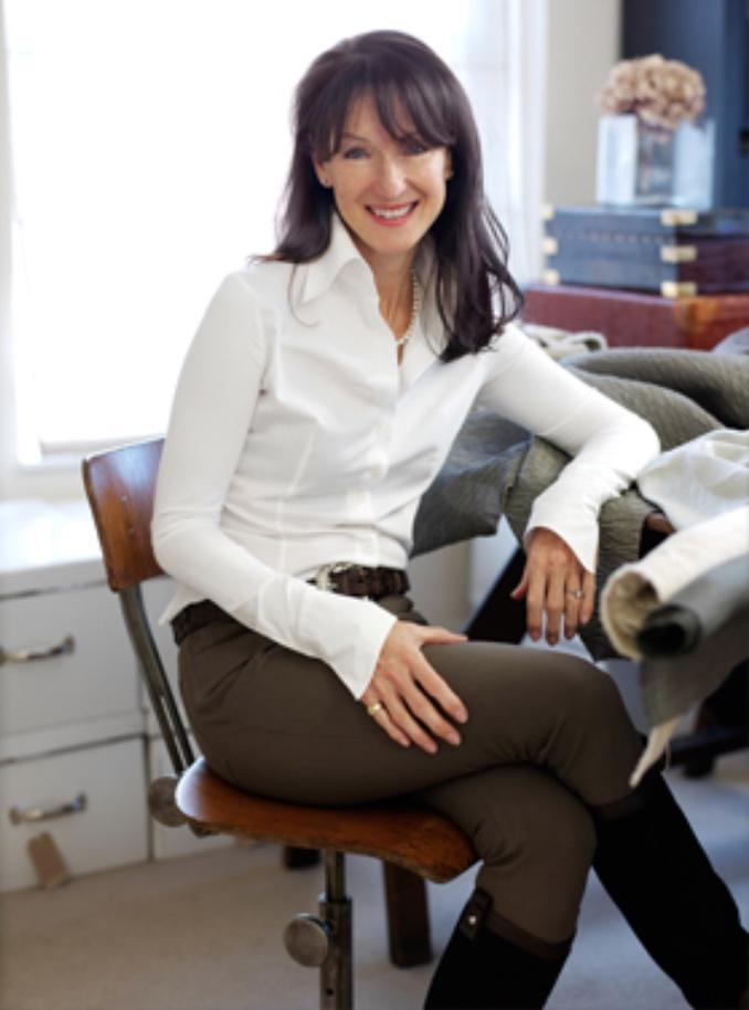 Bernie De Le Cuona, founder of de le Cuona,a leading international luxury fabric brand