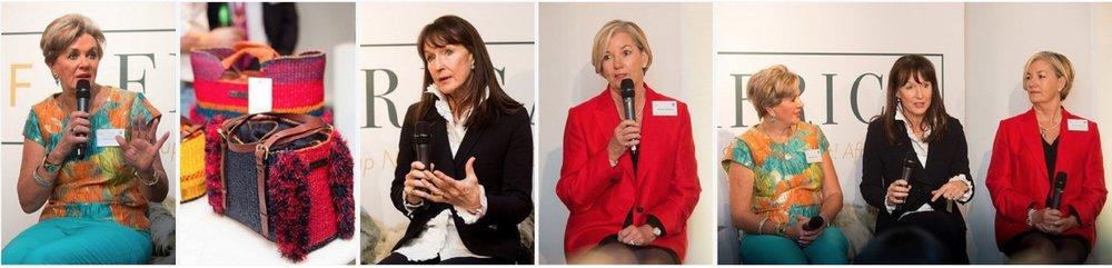 Leading Brand Builders Panel - L-R:Margaret Hirsch, Bernie de le Cuona,Brenda Wilkinson
