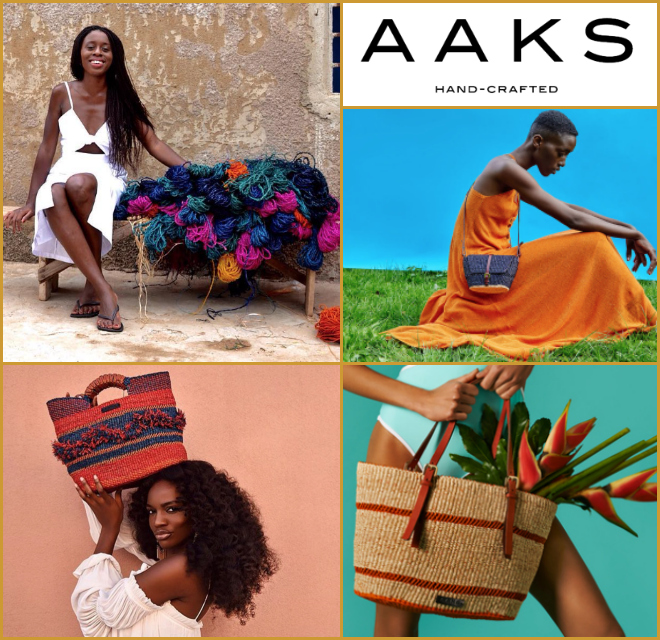 Akosua Afriyie-Kumi - Founder of AAKS (Ghana)A luxury handbag brand from Ghana built on authenticity and ethical values.info@aaksonline.com    www.aaksonline.com
