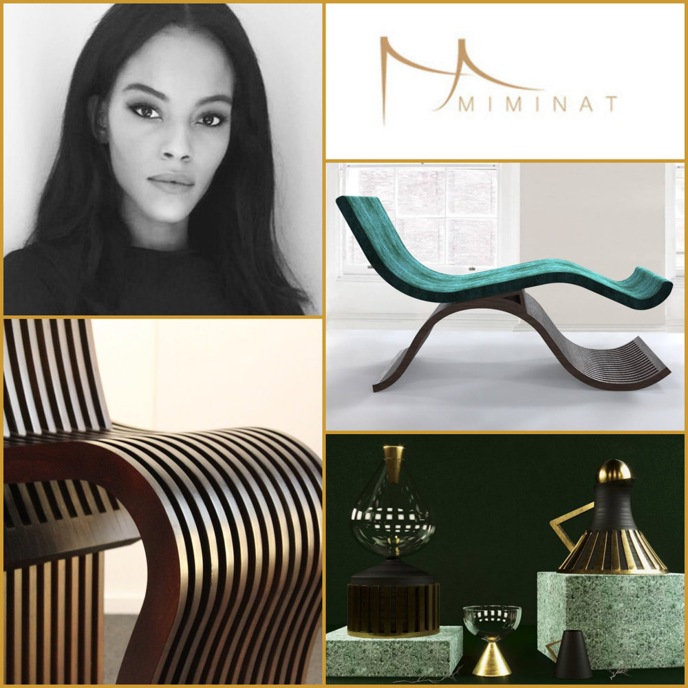 Mimi Shodeinde - Founder of Miminat (UK)A contemporary African inspired furniture and home accessories brand.mimi@miminat.co.uk    www.miminat.co.uk