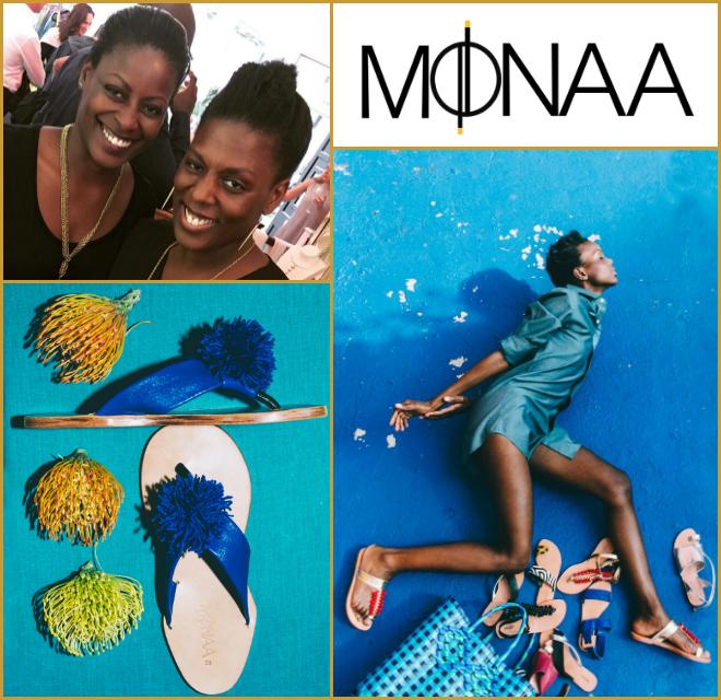 Afua Dabanka - Co-founder of Monaa and Mosaique (Ghana)Handcrafted African inspired shoe and accessory brands.afua@mo-saique.com www.mo-saique.com www.monaaonline.com