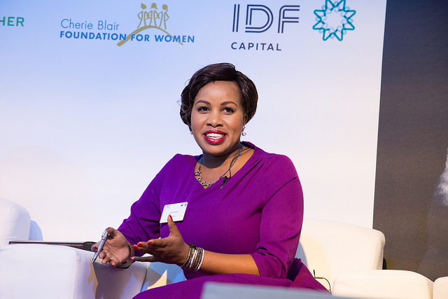 Lorna Rutto, founder of EcoPost, Kenya