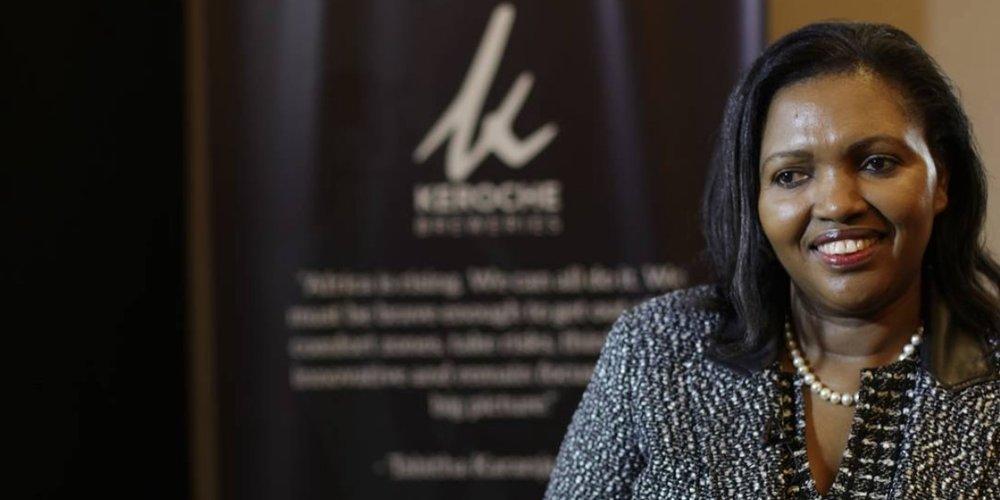 Tabitha Karanja , founder and CEO of  Keroche Breweries  (Kenya)