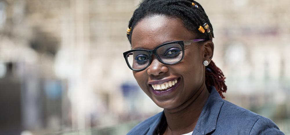 Mariéme Jamme , founder of iamtheCODE (Senegal/UK)