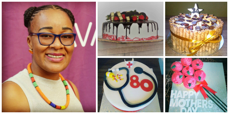 Mapeka Polane , founder of Spegelicious Cakery And Party Rentals (Lesotho)