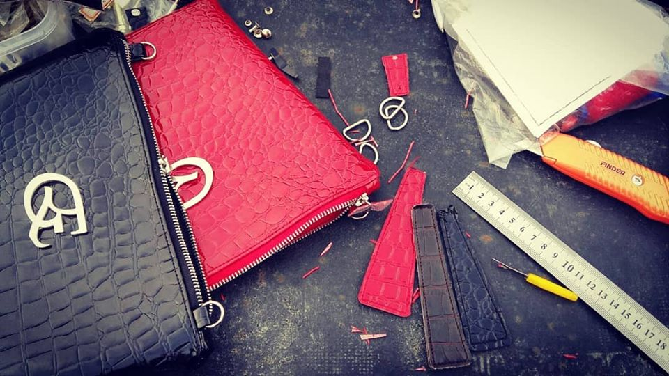 ENK in the making black and red bags.jpg