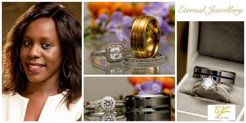 Chita Mumba Zulu, founder of  Eternal Jewellery Zambia