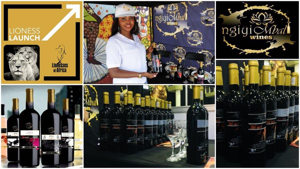 Mbali Masike , founder of Ngiyi Mbali Wines (South Africa)