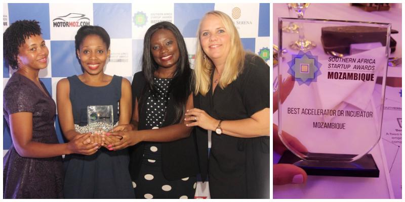 The Standard Bank Incubator L-R: Celeste Miambo, Neusa Xavier, Sheila Juvane, Sasha Vieira