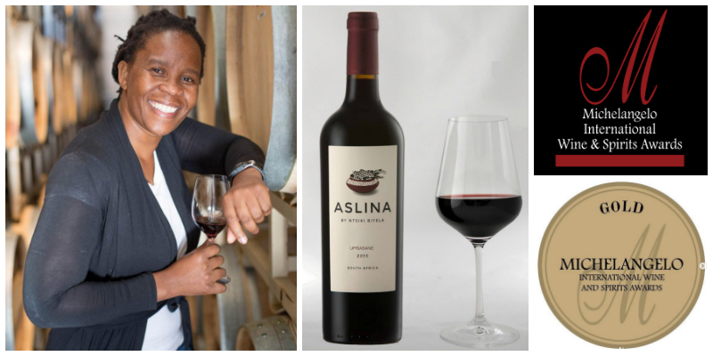 Ntsiki Biyela , founder of  Aslina Wines  (South Africa)