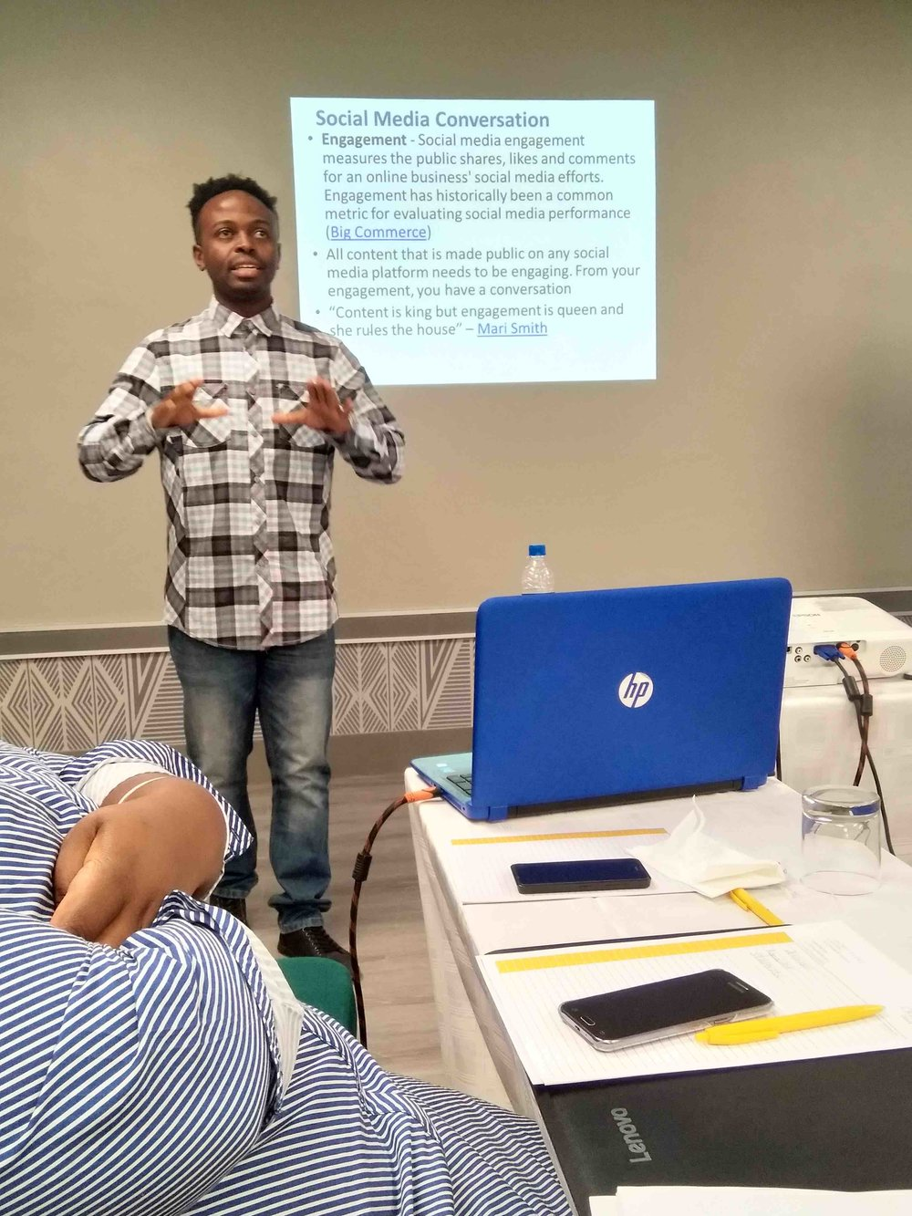 Brandbuilder team member Tendai training.jpg