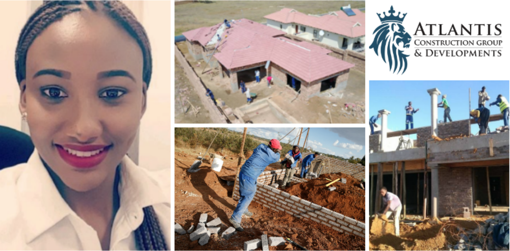 Laurettah Sibanda, founder of  Atlantis Construction Group and Developments  (Botswana)